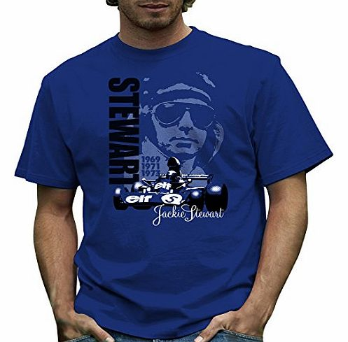 Official Jackie Stewart, Tyrrell 006 T Shirt by Retro Formula 1