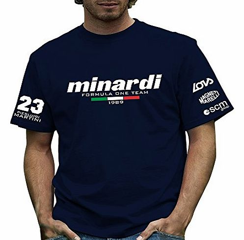 Official Minardi 189 T Shirt by Retro Formula 1
