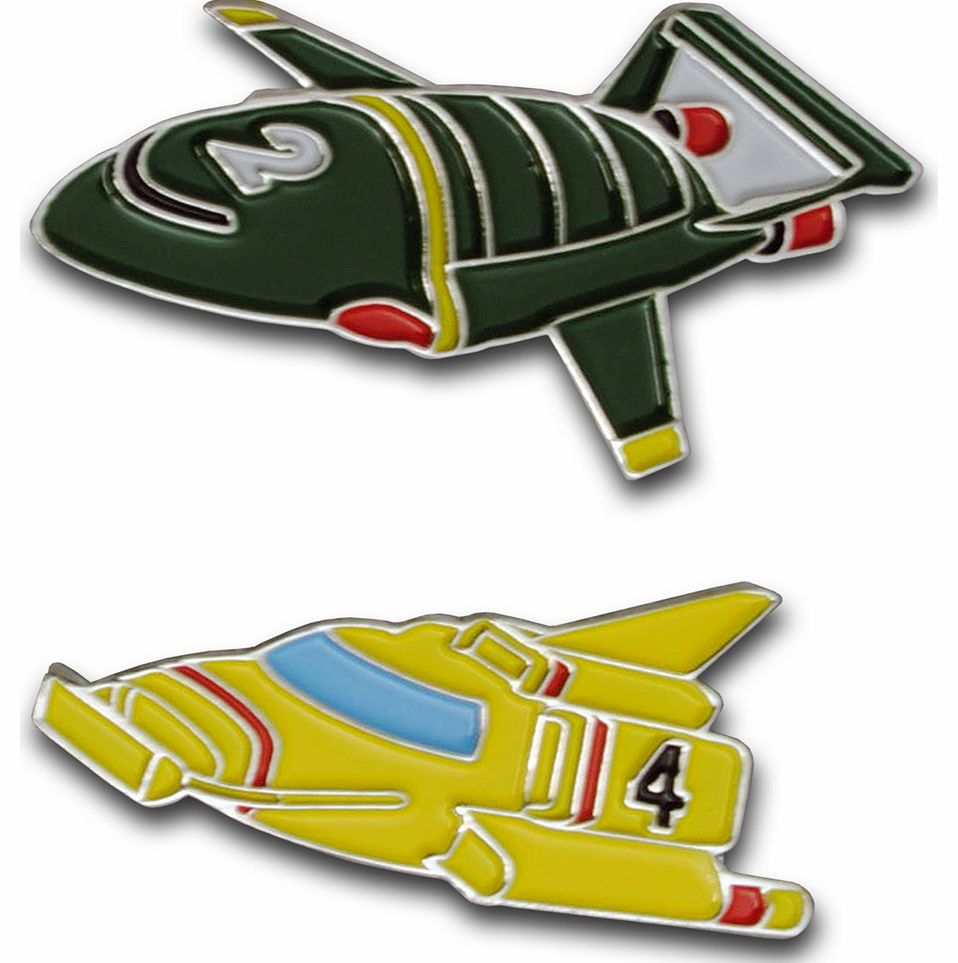 Thunderbirds Set Of Two Cufflinks