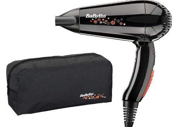 Babyliss Professional Travel Hair Dryer Set Hairdryer Hair Dryer