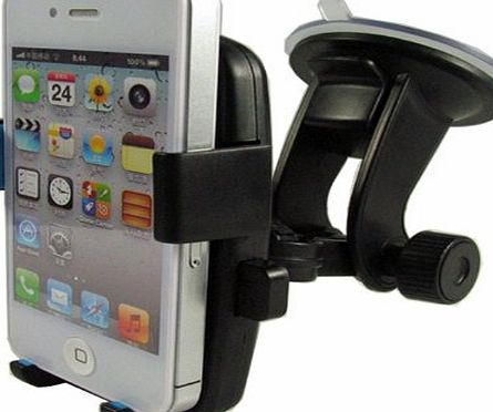 One Easytouch In Car Holder for Apple Iphone 6 / 5 / 4 / 4s / 3G / 3 and Samsung, HTC, Nokia, Blackberry, Nexus
