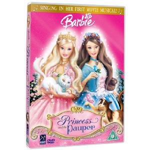 Barbie Barbie as the Princess and the Pauper DVD