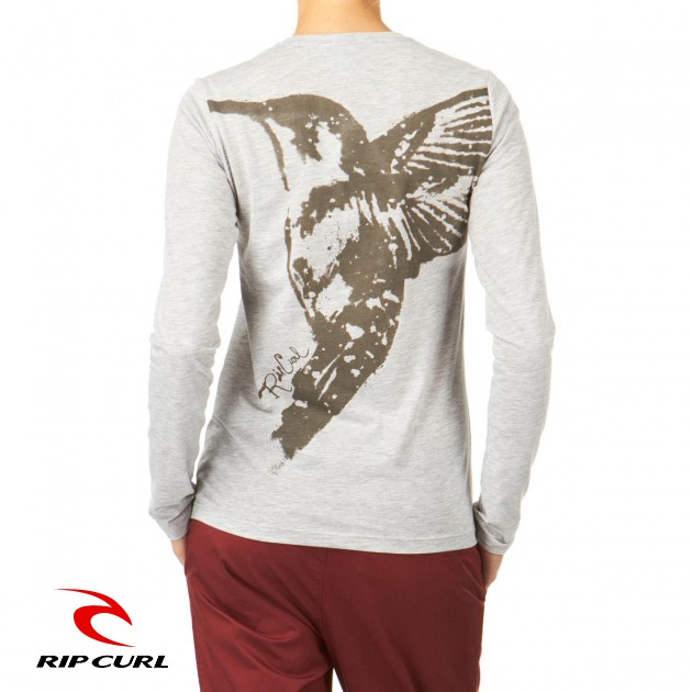 Womens Rip Curl Sulivan Long Sleeve T-Shirt -