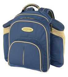 Blue Picnic Backpack -4 Person