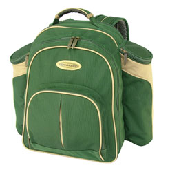 Green Picnic Backpack -4 Person