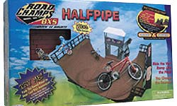 Half Pipe Stunt Set
