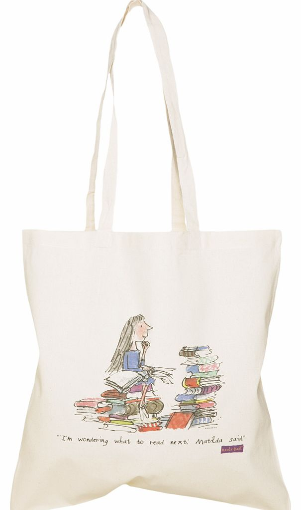 The BFG Quote Canvas Tote Bag