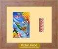 Hood - Single Film Cell: 245mm x 305mm (approx) - beech effect frame with ivory mount