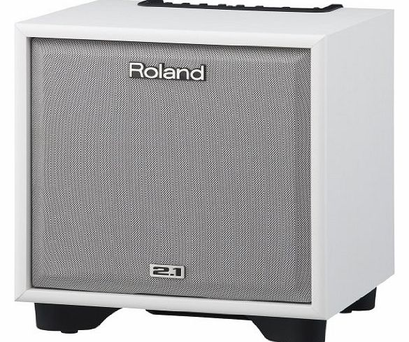 ROLAND  CM-110 CUBE 2.1 Monitor System for Electronic Instruments - White