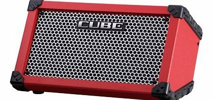 ROLAND  Cube Street Battery Amp (Red)