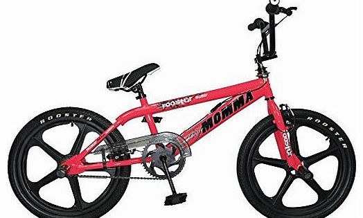 2015 Rooster Big Momma Girls Bmx Bike 20`` Skyway Mag Wheels Gyro Stunt Pegs RS44