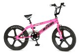 BMX Bike Rooster Big Momma Neon Pink With Black Mags