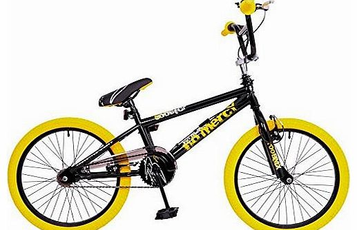 Go Easy Kids 20`` Wheel Freestyle Bmx Bike Bicycle Gyro Stunt Pegs RS68