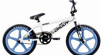Awesome Rooster Big Daddy White BMX Bike - Unisex --