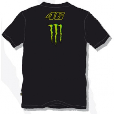 Valentino Rossi T-Shirt Big 46 Monster 2011 - NEW