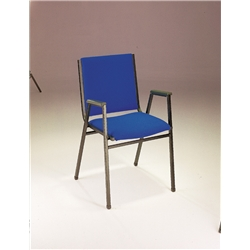 royal Blue Galaxy Multi Purpose Stacking Chair.