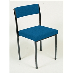 royal Blue Multi Purpose Stacking Chair.