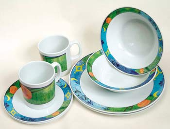Fruits Melamine Tableware Set
