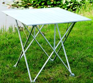 Single Aluminium Roll Up Table