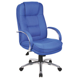 RS Soho Rome Fabric Executive Office Chair - Blue