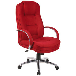 RS Soho Rome Fabric Executive Office Chair - Red