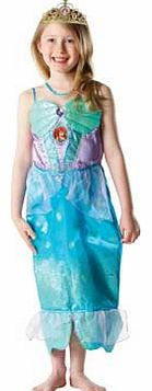 Rubies Glitter Ariel Dress Up Outfit - 5-6 Years