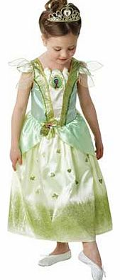 Rubies Glitter Tiana Dress Up Outfit - 5-6 Years