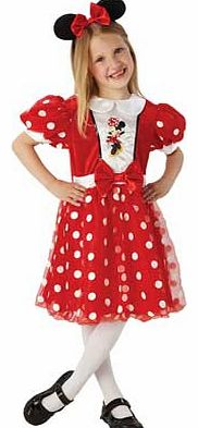 Rubies Red Minnie Mouse Glitz Dress Up Outfit -