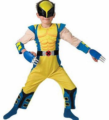 Rubies Wolverine Dress Up Outfit - 3-4 Years