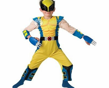 Rubies Wolverine Dress Up Outfit - 5-6 Years