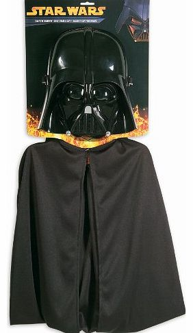 Rubies Star Wars Darth Vader Childs Mask & Cape