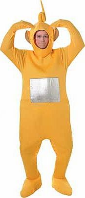 Teletubbies Laa-Laa Costume - 38-40 Inches