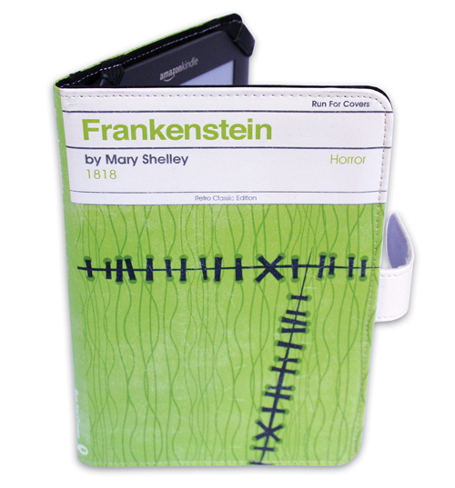 Frankenstein By Mary Shelley E-Reader Cover For
