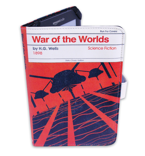 War Of The Worlds By H G Wells E-Reader Cover