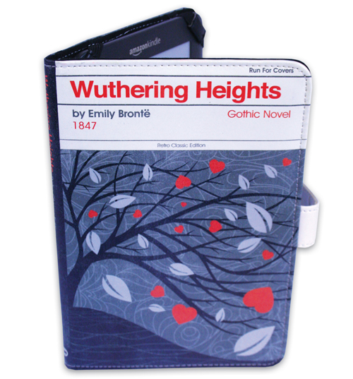 Wuthering Heights By Emily Bronte E-Reader Cover
