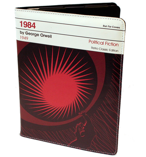 1984 By George Orwell iPad Cover from Run For