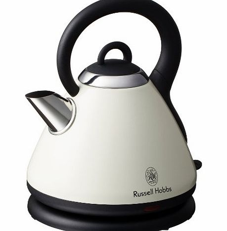 Russell Hobbs 18256 Heritage Kettle, 1.8 L - Country Cream