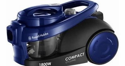 18521 Compact Cyclonic Bagless Cylinder Vacuum Cleaner, 1800 Watt