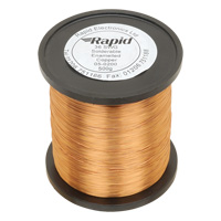 500GM REEL 25SWG ENAM. WIRE (RC)