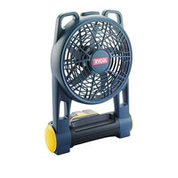 Cfa-180M One  18v Cordless Folding Fan Requires Separate One  Battery and Charger