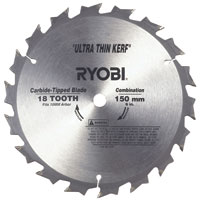 Circular Saw Blade 150mm x 10mm Bore Ultra Thin Kerf For Ccs-1801/Lm and Ccs-1801/Dm