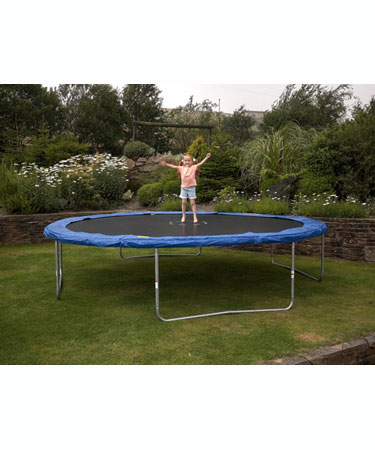 S L L TRAMPOLINE 12ft and cover.