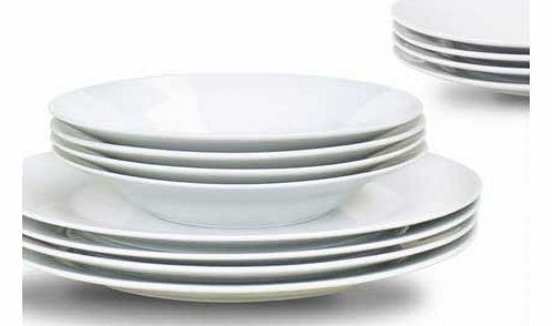12 Piece Day to Day Dinner Set