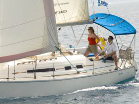 Sailing holiday in the Peloponnese, Greece