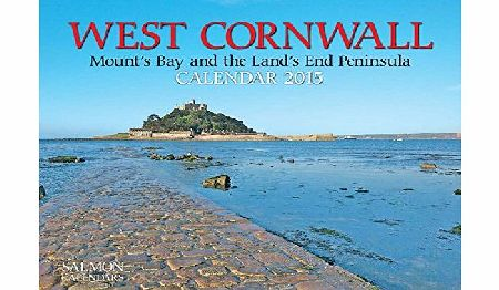 Salmon West Cornwall (Mounts Bay amp; The Lands End Peninsula) Small Wall Calendar 2015