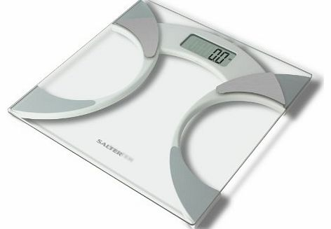 9141 WH3R Glass Body Fat Analyser Bathroom Scale