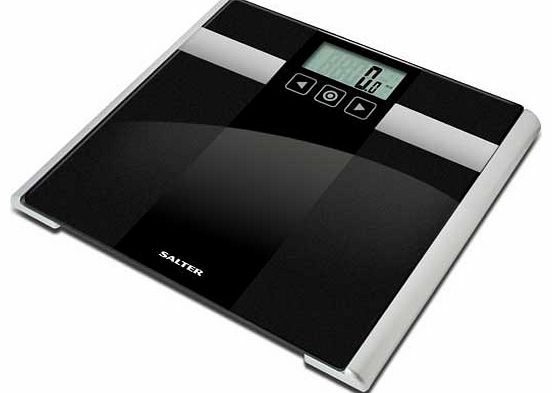 Onxy Body Analyser Bathroom Scale - Black