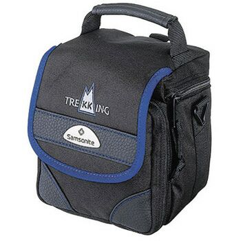 Samsonite Camera Case - Trekking 110 Black with Blue ~ Ref 28401