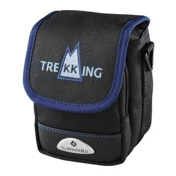 Samsonite Camera Case - Trekking DF10 Black with Blue ~ Ref 28491