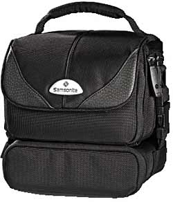 Samsonite Camera Case - Trekking Premium DV-55 DUO - Black ~ Ref 28674